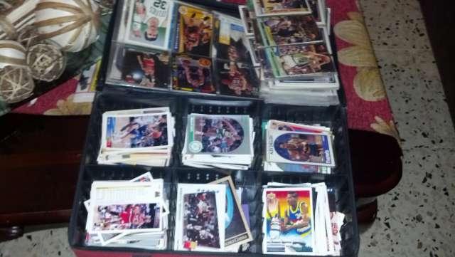 Coleccion de cartas de baloncesto.