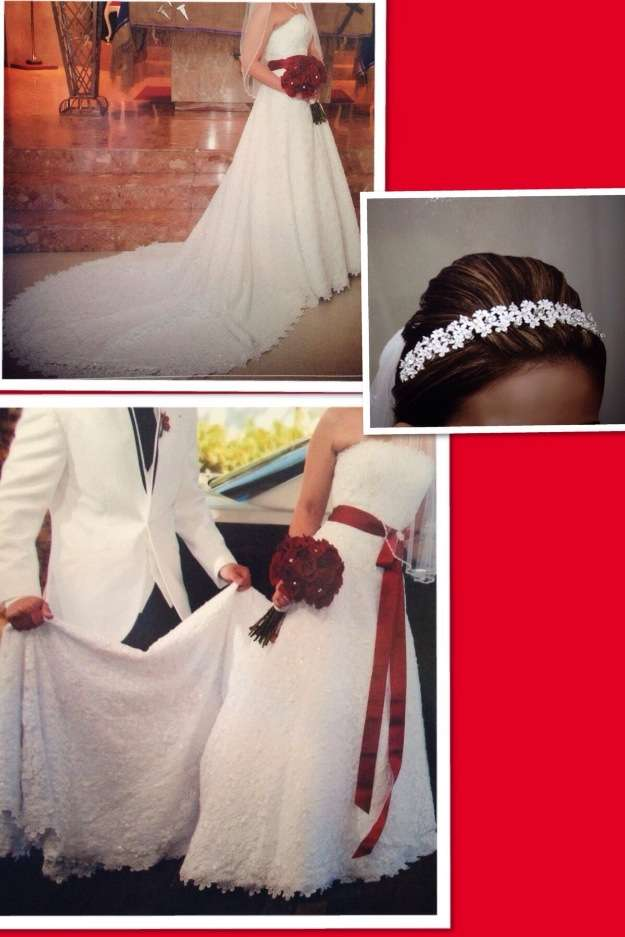 Traje de novia coleccion davids bridal $800 omo