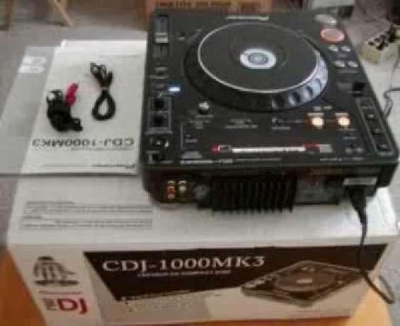 Nuevo 2x pioneer cdj-1000mk3 & 1x djm-800 mixer dj package. caja y sellado! f / s desblo
