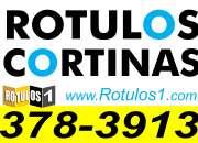 Rotulos, Imprenta, Cortinas de lona, full wrap